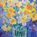 First Daffs, by Fiona Forbes