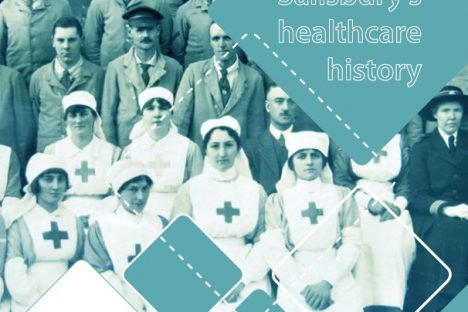 Building innovative connections with our local population through the healthcare history project