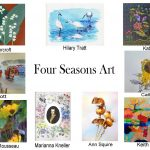 Four Seasons Art montage