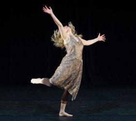 Debbie Lee-Anthony dancing