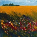 'Summer yellow across the field' by Terry Kemp