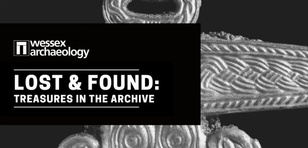 Wessex Archaeology Lost and Found logo
