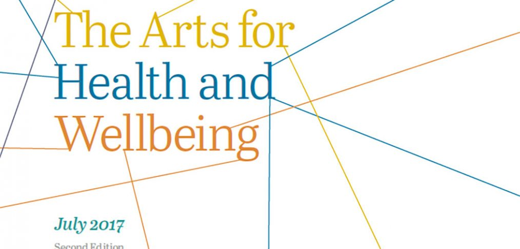 Creative Health: The Arts for Health and Wellbeing report cover