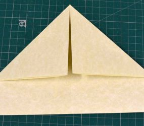 folding corners down