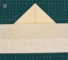 folding bottom flap up