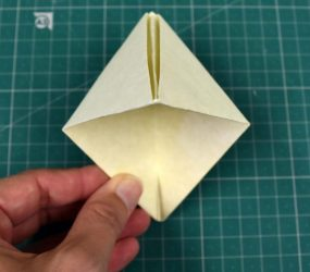folding shape out the other way