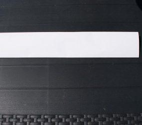 A3 paper folded in half again