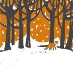digital fox by Lesley Self