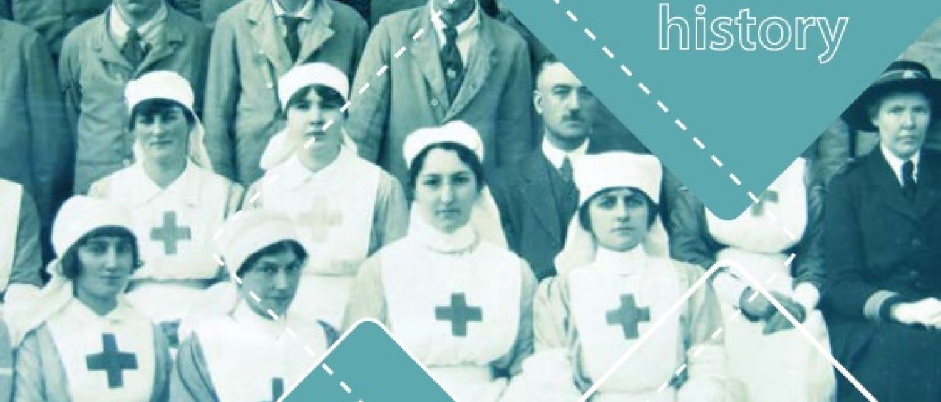 Red Cross nurses 1917