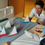 Origami boats on patient's bed – Hoodwink in Hospitals