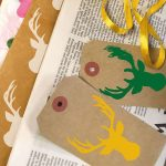 printed tags and wrapping paper
