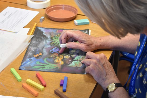 Time to de-stress - Staff Arts Club provides subsidised taster sessions for staff